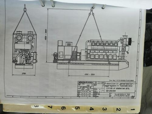 Wartsila 18V32LNE-50hZ31